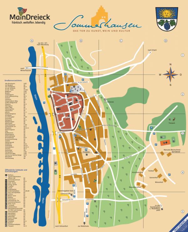 Stadtplan - Marktgemeinde Sommerhausen